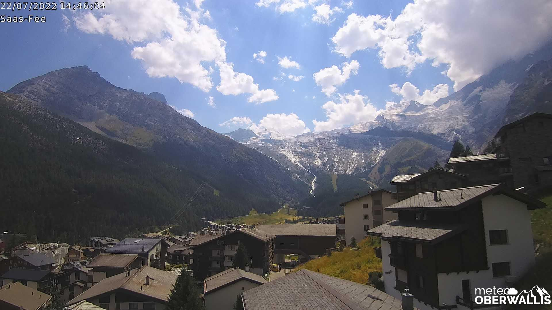 Webcam Haus Astor Saas-Fee